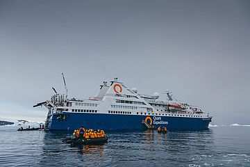 Ocean Diamond Expeditionsschiff
